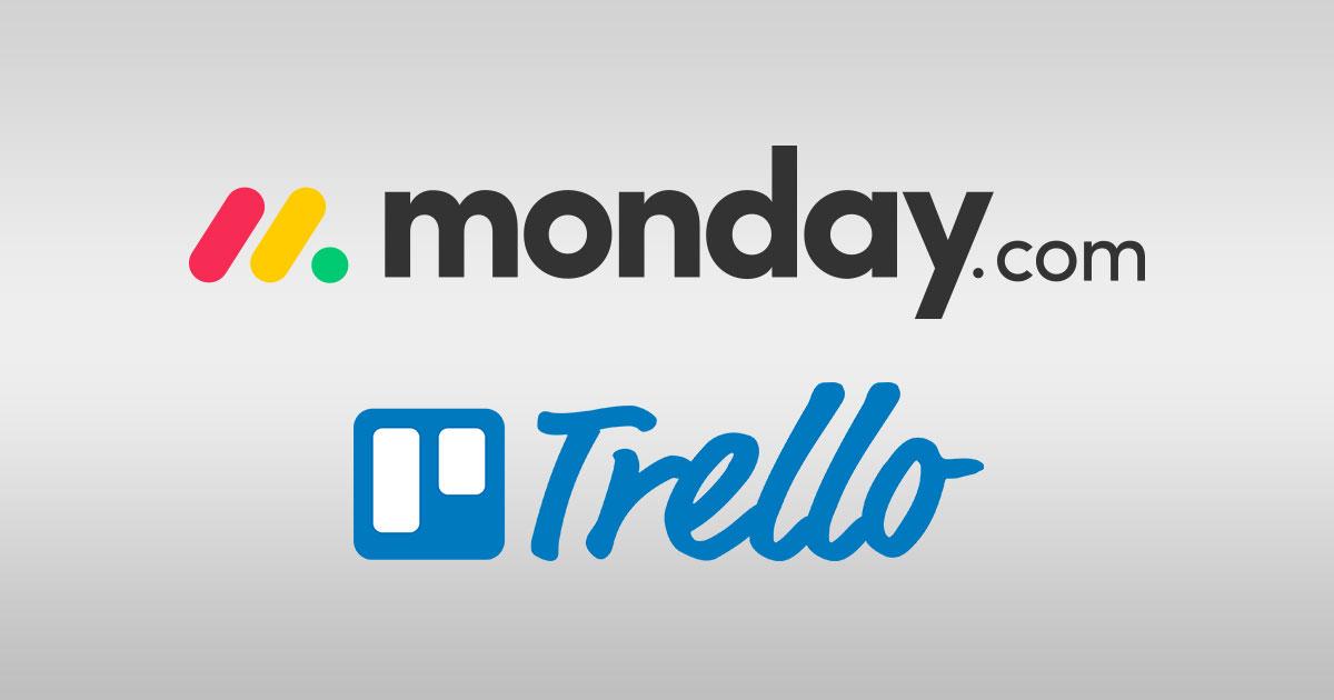 Monday vs Trello